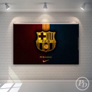 Tablouri canvas FC Barcelona, publicitate pody barcelona 300x300