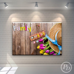 Tablouri canvas decorative, productie publicitara pody family 300x300