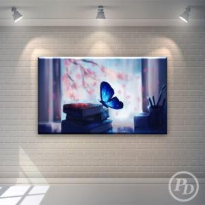 Tablouri canvas cu fluturi, productie publicitara pody fluture 300x300