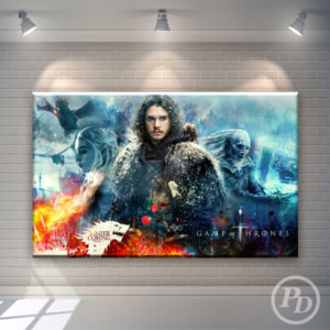 Tablouri canvas Game of Thrones, publicitate pody game of thrones 300x300