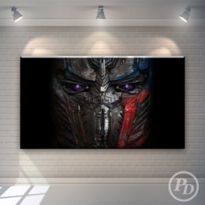 Tablouri canvas Transformers, productie publicitara pody optimus 300x300
