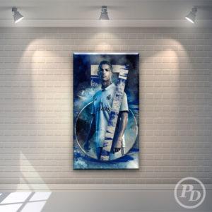 Tablouri canvas Cristiano Ronaldo, publicitate pody ronaldo 300x300