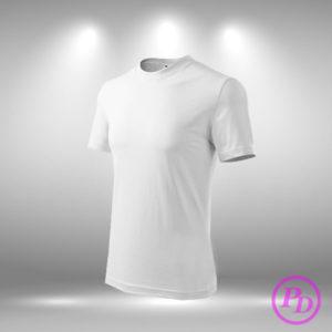 Tricouri simple, textile personalizate tricou alb pody 300x300