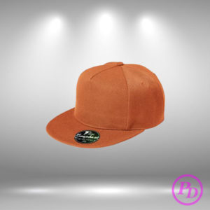 Sepci rap simple, personalizare textile sapca rap orange 300x300